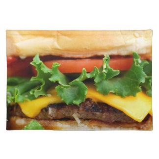 ベーコンのチーズバーガー ランチョンマット