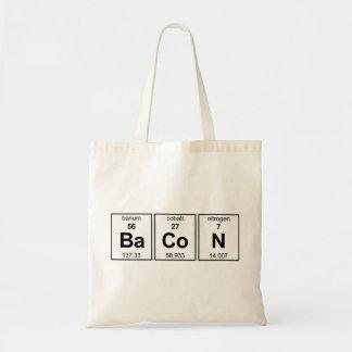 ベーコンのバッグ トートバッグ