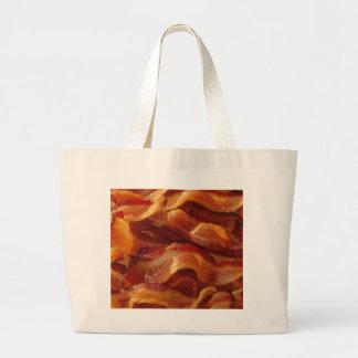 ベーコンのバッグ ラージトートバッグ