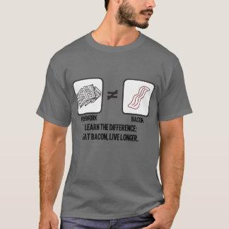 ベーコンの偽の同輩の宿題 Tシャツ