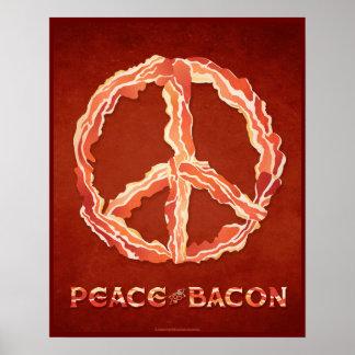 ベーコンの平和 ポスター