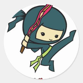ベーコンの忍者 ラウンドシール