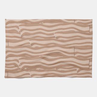 ベーコンの織り方パターン キッチンタオル