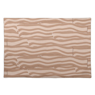 ベーコンの織り方パターン ランチョンマット