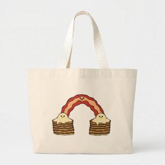 ベーコンの虹 ラージトートバッグ