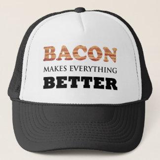 ベーコンはすべてによりよい帽子をします キャップ
