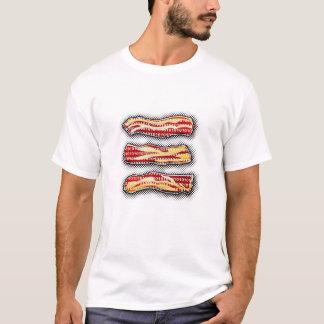ベーコンビットおよびバイト Tシャツ