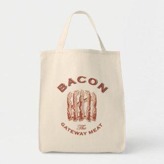 ベーコン出入口の肉屋のバッグ トートバッグ
