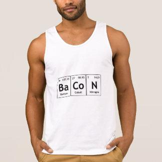 ベーコン化学周期表の単語要素の食糧