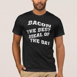 ベーコン日の最も最高のな食事 Tシャツ