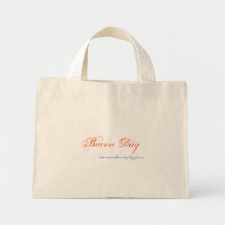 ベーコン日 ミニトートバッグ