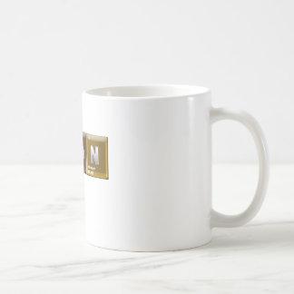"""""""ベーコン""""を綴る要素 コーヒーマグカップ"""