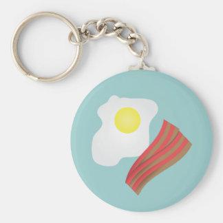 ベーコン・エッグの朝食 キーホルダー