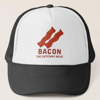ベーコン、出入口肉 キャップ