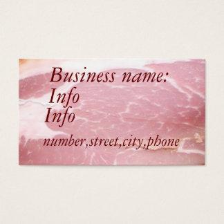 ベーコン、名前、住所1の住所2の接触1、C… 名刺