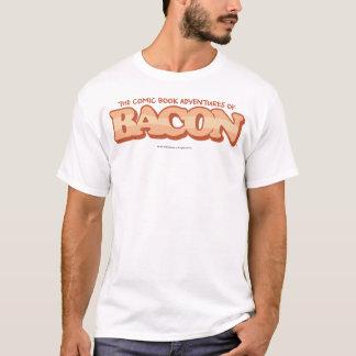 ベーコン、漫画本のワイシャツ(白で) Tシャツ