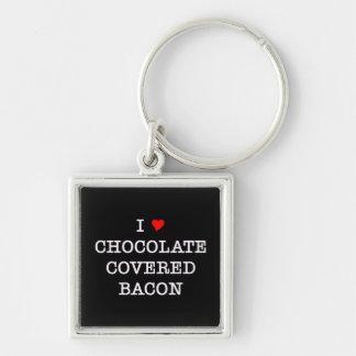 ベーコンI愛チョコレート キーホルダー