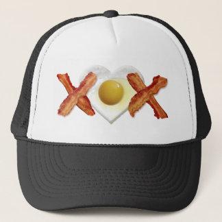 ベーコンX O X愛 キャップ