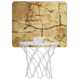 ベージュグランジスタイルのバスケットボールのゴール ミニバスケットボールネット