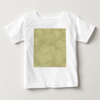 ベージュパターン ベビーTシャツ