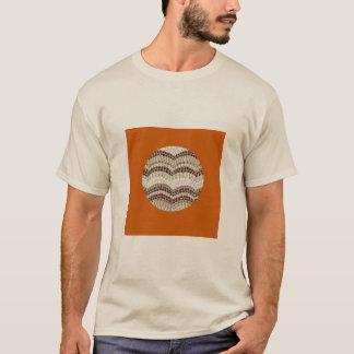 ベージュモザイク人の基本的なTシャツ Tシャツ