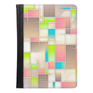 ベージュ抽象美術の箱 iPad AIRケース