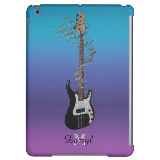 ベースギターのカッコいいの勾配音楽iPadの空気箱