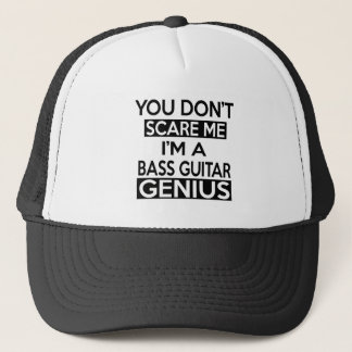 ベースギターの天才デザイン キャップ