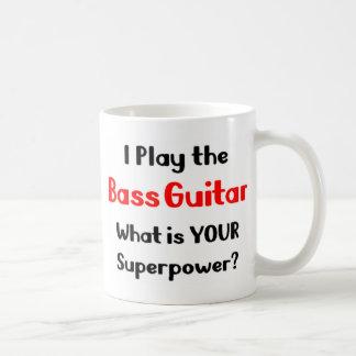 ベースギタープレーヤー コーヒーマグカップ
