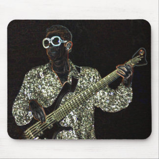 ベースギター音楽人の音のmousepad マウスパッド