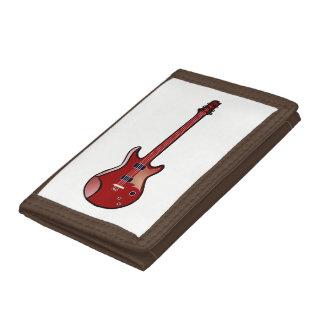 ベースギター ナイロン三つ折りウォレット
