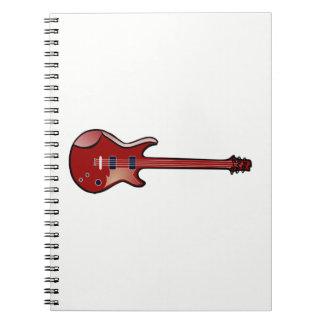 ベースギター ノートブック