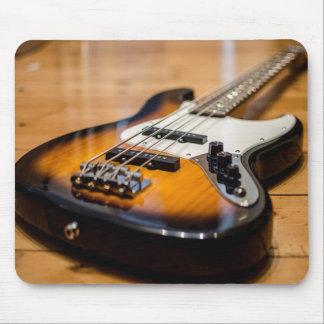 ベースギター マウスパッド