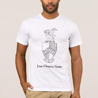 ベータΘ Piの紋章付き外衣 Tシャツ