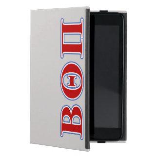 ベータΘ Piの赤くおよび青の手紙 iPad Mini ケース
