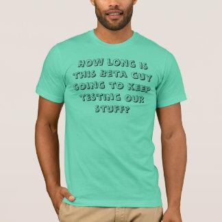 ベータ人 Tシャツ