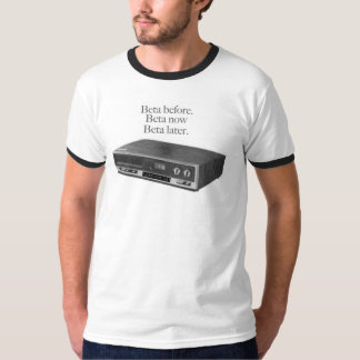 ベータ擬似Shempは今ティーにのせます Tシャツ