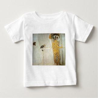 ベートーベンのフリーズ: 憧れる幸福 ベビーTシャツ