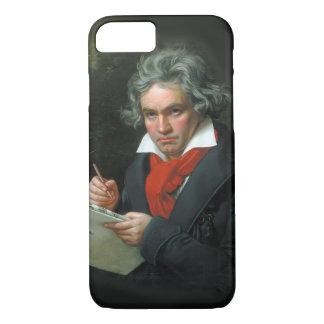 ベートーベンのポートレートのヴィンテージ iPhone 7ケース