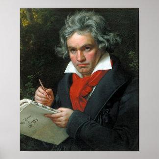 ベートーベンのポートレート ポスター