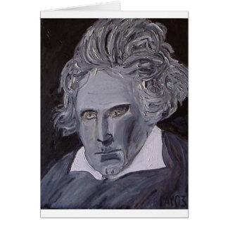 ベートーベンのメッセージカード カード