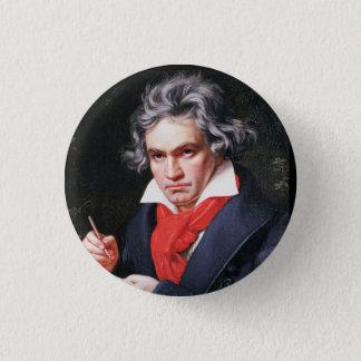 ベートーベンの執筆 3.2CM 丸型バッジ