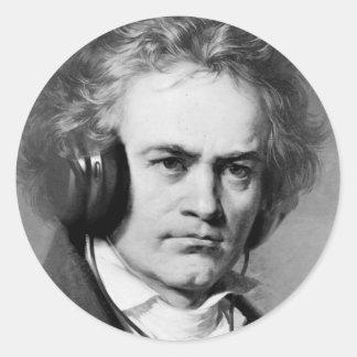 ベートーベンの石 ラウンドシール