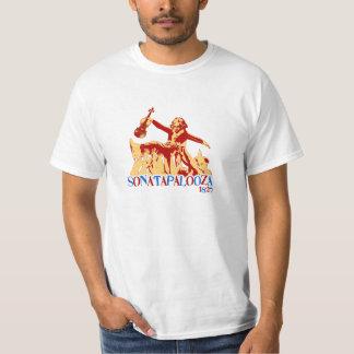 ベートーベンのSonatapaloozaの軽いTシャツ Tシャツ