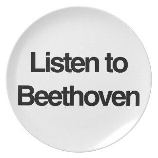 ベートーベン ディナー皿