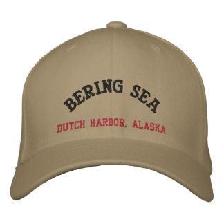 ベーリング海のオランダ港、アラスカ 野球キャップ