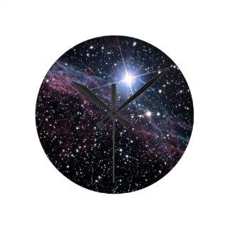 ベールの星雲 ラウンド壁時計
