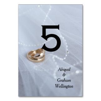 ベールの結婚指輪 カード
