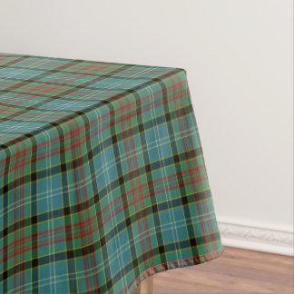 ペイズリーのスコットランド地区のタータンチェックのテーブルクロス テーブルクロス