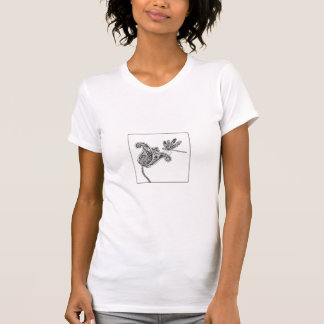 ペイズリーのトンボ Tシャツ